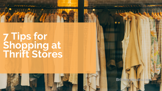 7 Tips to become a thrift shopping master