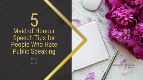 Writing a maid of honor speech can feel really overwhelming especially if you're afraid of public speaking. Gain wedding speech writing tips and examples from a professional wedding speech writer!